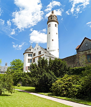 Hoechster Schloss castle, former seat of the Archbishopric of Mainz, Frankfurt, Germany, Europe