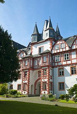 Castle Hungen, since 1974 owned by a community association, Hungen, Hesse, Germany, Europe