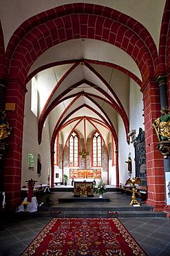 The The The The The The abbey of Sayn with the abbey church, Sayn, Koblenz Rhineland-Palatinate, Germany, Europe