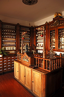 Old Pharmacy from 1834, Bad-Essen, Lower Saxony, Germany, Europe