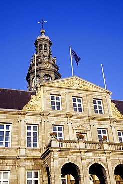 Stadhuis, City Hall at the market square, city centre, Maastricht, Limburg, The Netherlands, Benelux, Europe