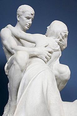 Art sculpture at The Glyptotek in Copenhagen, Denmark