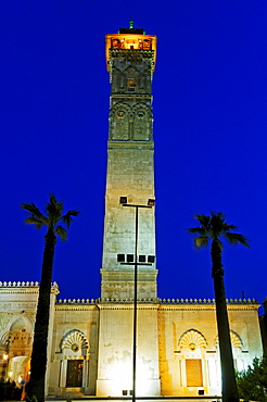 Umayyad mosque in the old town of Aleppo, Syria, Asia