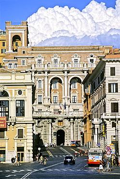 Piazza Venezia, Via IV Novembre, Rome, Lazio, Italy, Europe
