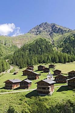 Oberstaller alpine pasture, Innervillgraten, East Tyrol, Austria, Europe