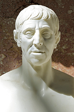 Bust of Joseph Haydn, Austrian composer of the classical period