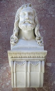 Bust of Albrecht Duerer, German printmaker and painter