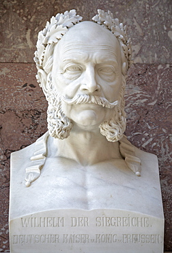 Bust of Wilhelm I the Great, German Emperor and king of Prussia