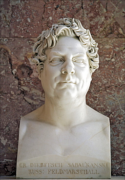 Bust of Ivan Diebitsch-Sabalkanskij, Russian field marshal