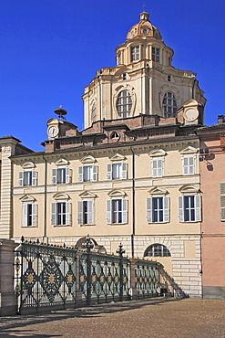 San Lorenzo Church on Piazza Castello, Turin, Torino, Piedmont, Italy, Europe