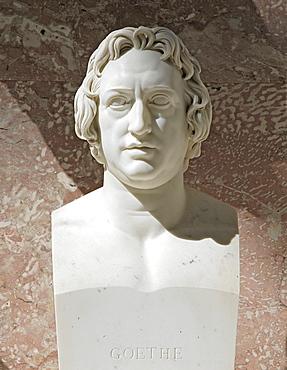 Bust of Johann Wolfgang von Goethe, German poet