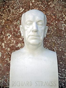 Bust of Richard Strauss, German composer