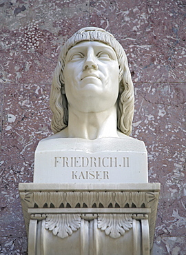 Bust of the Emperor Frederick II of Prussia, the great