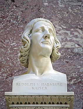 Bust of Rudolf von Habsburg, German king