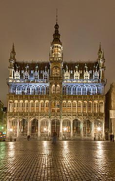 Museum, Grand Place, Grote Markt, Brussels, Belgium, Europe
