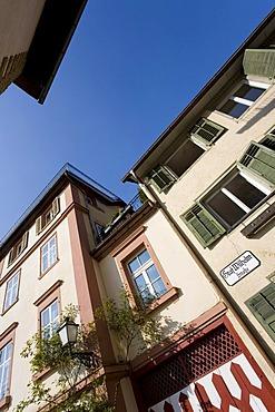 Houses in Graf-Wilhelm Street, Oberstadt, Lake Constance, Bregenz, Vorarlberg, Austria