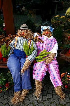 Erntedank, Thanksgiving figures in Franconia, Bavaria, Germany, Europe