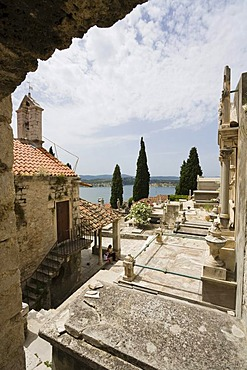Cemetery of Sibenik, Dalmatia, Croatia, Europe