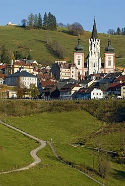 Basilica and pilgrimage church, Mariazell, Styria, Austria, Europe