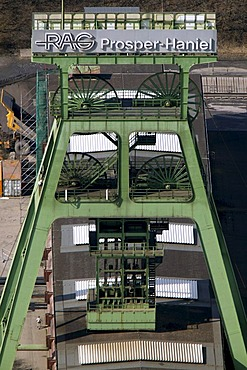 Aerial photo of Prosper-Haniel mine, Bottrop, Ruhr Area, North Rhine-Westphalia, Germany, Europe