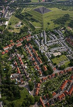Aerial photograph, Schuengelberg-Siedlung, mining settlement, Gelsenkirchen Buer, North Rhine-Westphalia, Germany, Europe
