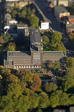 Aerial photograph, Oberhausen, Ruhr Area, North Rhine-Westphalia, Germany, Europe