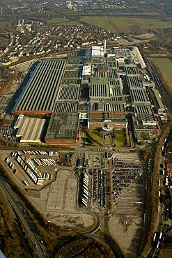Aerial photo, OPEL Werk 1 Laer, Opel car factory plant 1, Bochum, Ruhr district, North Rhine-Westphalia, Germany, Europe