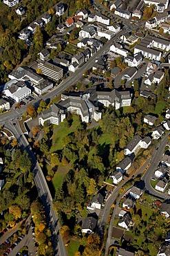 Aerial photo, Meschede, Hochsauerlandkreis, Sauerland, North Rhine-Westphalia, Germany, Europe