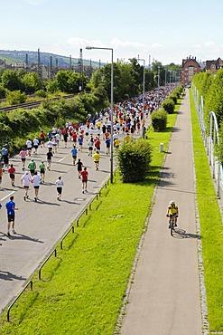Marathon, Stuttgart, Baden-Wuerttemberg, Germany, Europe