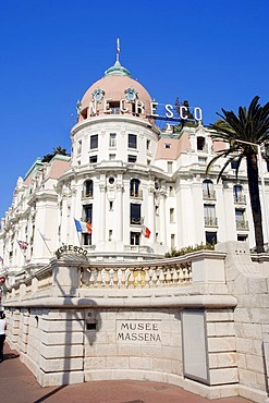 Hotel Negresco, Nice, Alpes-Maritimes, Provence-Alpes-Cote d'Azur, Southern France, France, Europe