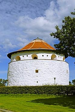 Gunpowder tower Krudttarnet, Frederikshavn, Jutland, Denmark, Europe