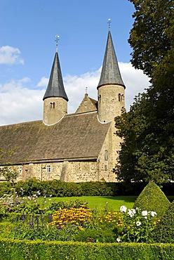 Moellenbeck Convent, community of Rinteln, Lower Saxony, Germany, Europe