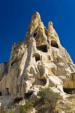 Goereme open air museum and UNESCO World Heritage Site, Cappadocia, Central Anatolia, Turkey, Asia