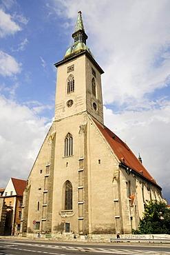 St. Martin's Cathedral, Katedrala sv. Martina, Bratislava, formerly known as Pressburg, Slovakia, Europe