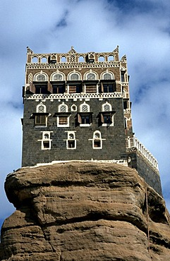 Imam Palace in Wadi Dhar, Yemen, Arabia, Middle East, Orient