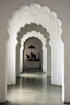 Corridor, Mehrangarh Fort, Jodhpur, Rajasthan, India, South Asia