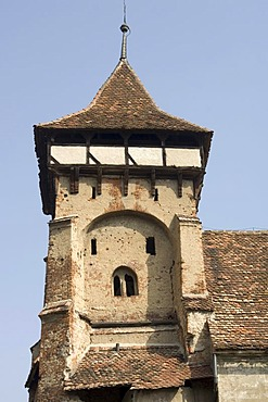 Fortified Church and Fortress Valea Viilor, Unesco World Heritage Site, Transylvania, Rumania