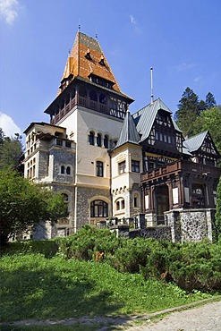 Pelisor Castle, Simiu, Wallachia, Carpathian Mountains, Romania