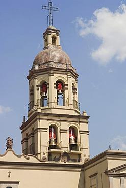 Convent Santa Cruz, historic town Santiago de Queretaro, UNESCO World Heritage Site, Province of Queretaro, Mexico