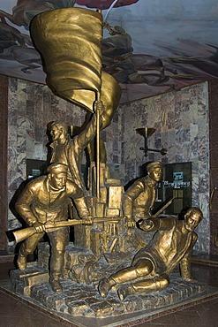 State Historical Museum, former Lenin Museum, First failed revolution of 1905, Bishkek, Kyrgystan