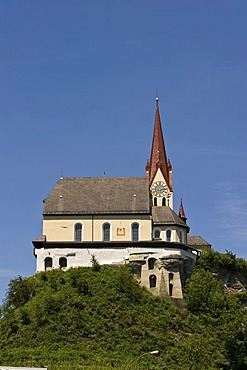 Liebfrauenkirche Church at the Liebfrauenberg hill, Rankweil, Vorarlberg, Austria, Europe