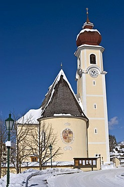 Parish church, Achenkirch, Tyrol, Austria