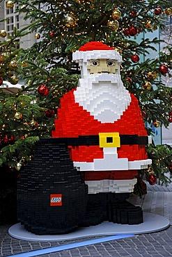 Father Christmas made of Lego bricks