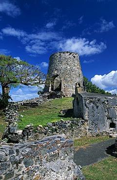 Annaberg Sugar Mill Ruins, St. John Island, United States Virgin Islands, Caribbean