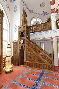 Mosque, open day, Bergisch Gladbach, North Rhine-Westphalia, Germany, Europe