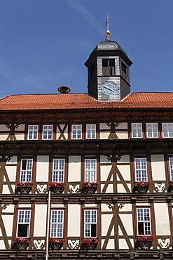 Vacha town hall, Rhoen, Thuringia, Germany, Europe