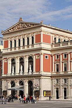 Musikverein, Musical Society, Gesellschaft der Musikfreunde, Society of Friends of Music, Vienna, Austria, Europe