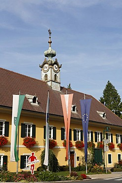 City Hall in Frauental on the Lassnitz, Steiermark, Austria, Europe