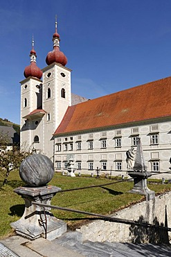 St. Lambrecht Benedictine Monastery, Styria, Austria, Europe