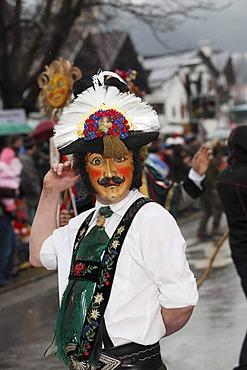 Mullerlaufen parade in Thaur, carnival tradition, Tyrol, Austria